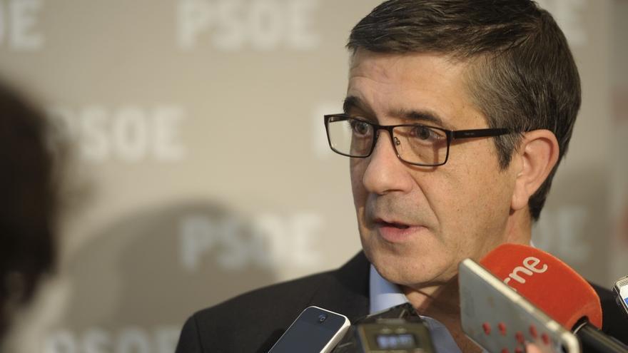 """Patxi López no considera real la """"foto"""" del CIS, con dos partidos de derechas tan bien posicionados"""