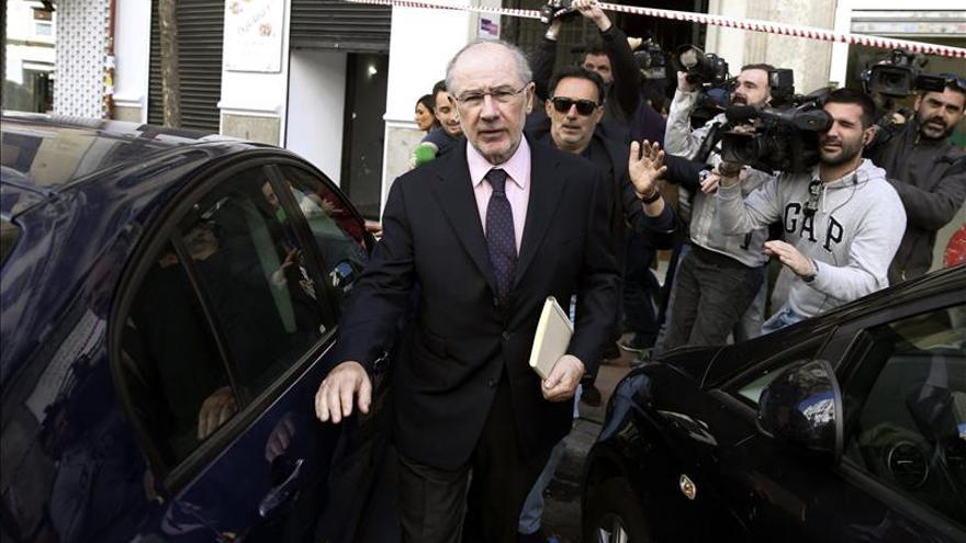 El juez Andreu rebaja la fianza de 3 millones a Rato por las tarjetas opacas