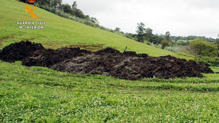 Investigan a un ganadero por un vertido al río Aguanaz en Entrambasaguas