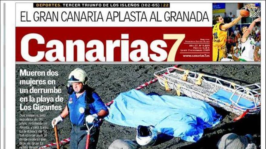 De las portadas del día (2/11/2009) #2