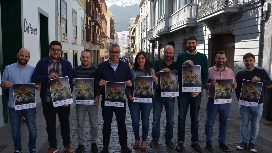 Presentación del II Open Avis Canarias Ciclista de La Palma.