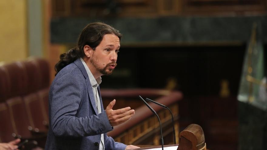 """Pablo Iglesias responde a Pedro Sánchez: """"No vinimos para escondernos en las faldas de un Gobierno corrupto"""""""