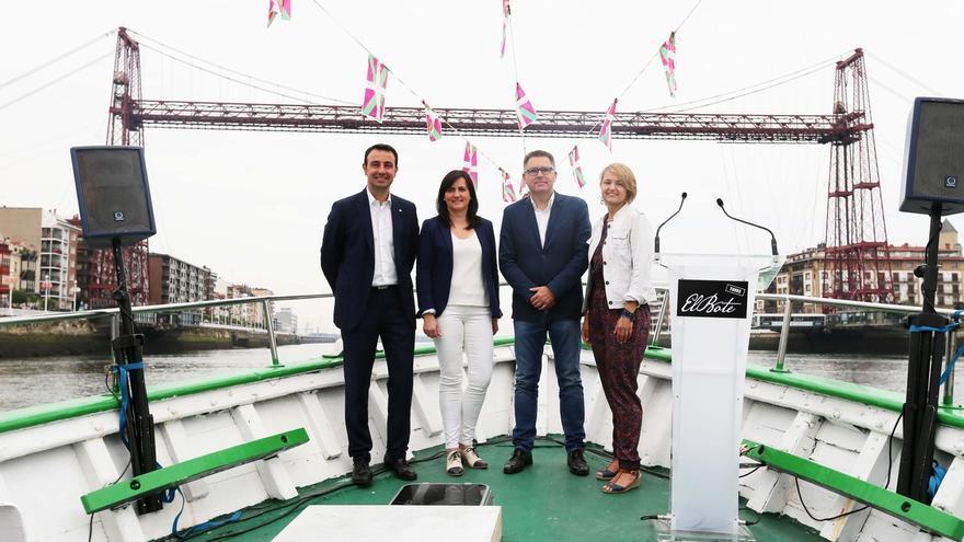 Getxo, Portugalete y Santurtzi se unen en la iniciativa 'Bote Tours' para potenciar sus atractivos turísticos