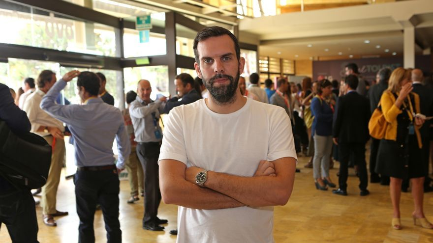 El director ejecutivo de Vice Media Madrid, Gonzalo Pastor.