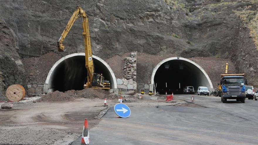 Túnel de la carretera de La Aldea. (ALEJANDRO RAMOS)