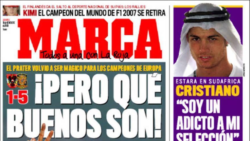 De las portadas del día (19/11/2009) #8