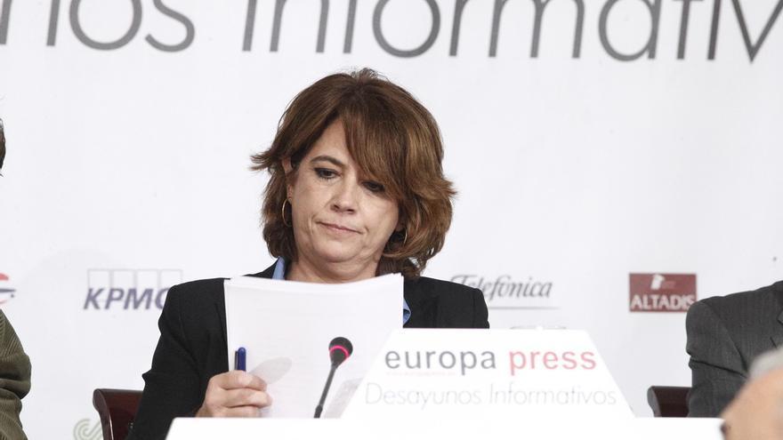 """Delgado asegura que su """"apoyo"""" es """"absoluto"""" a los jueces y fiscales de Cataluña y anuncia un viaje para demostrarlo"""