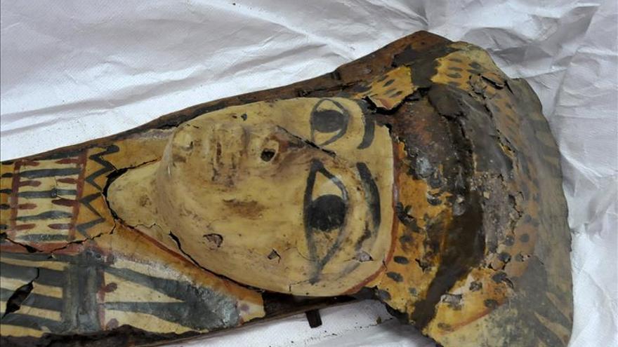 Egipto recupera una máscara grecorromana gracias a un testamento