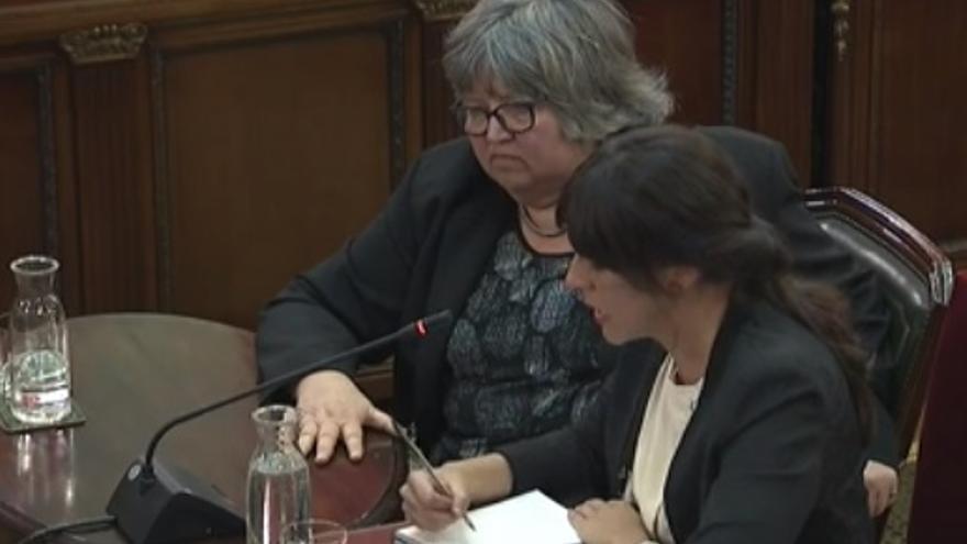 Helena Catt, en el Supremo