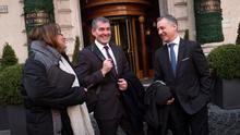 El presidente del Gobierno canario, Fernando Clavijo, acudió al Consejo Político del Partido Demócrata Europeo (PDFE) en Roma (Italia).