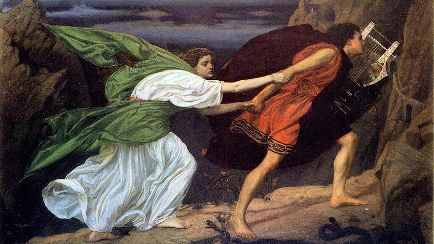 'Orfeo y Eurídice', de Edward John Poynter.