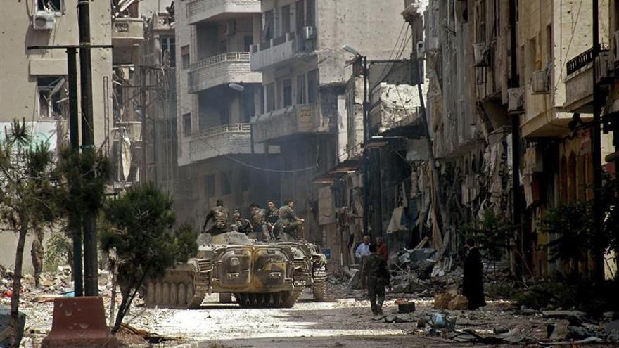 Al menos 32 personas afectadas por un supuesto ataque químico cerca de Alepo