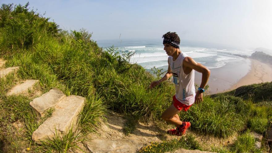 Ismail Razga en la Kosta Trail.