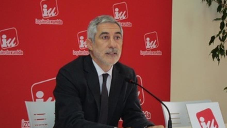 Gaspar Llamazares, Candidato Por Asturias IU