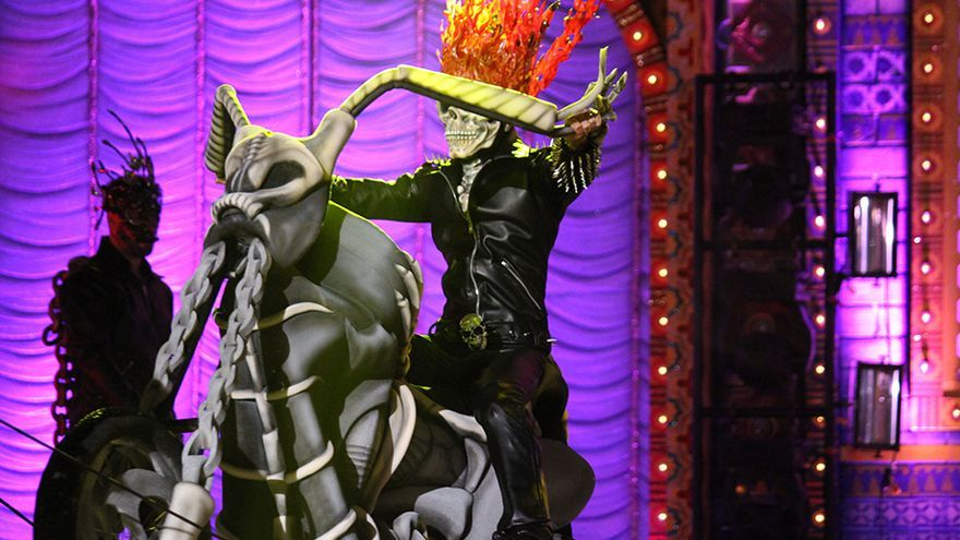 Drag Valkiria, con la fantasía 'El pacto de Mefistófeles', fue proclamada la Drag Queen.