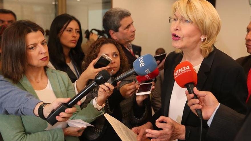 Luisa Ortega dice que en Venezuela se debe cambiar el poder electoral