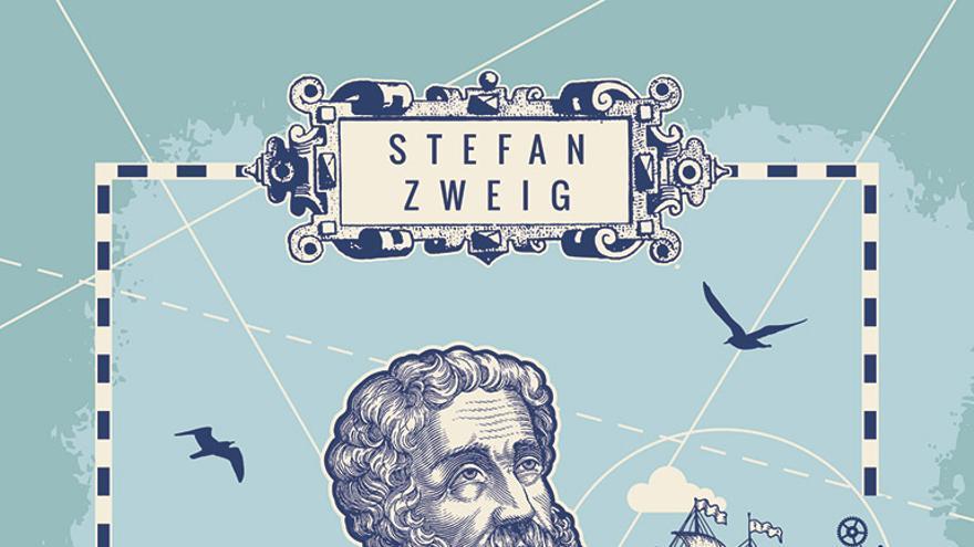 Portada del libro 'Magallanes', de Stefan Zweig (Capitán Swing)