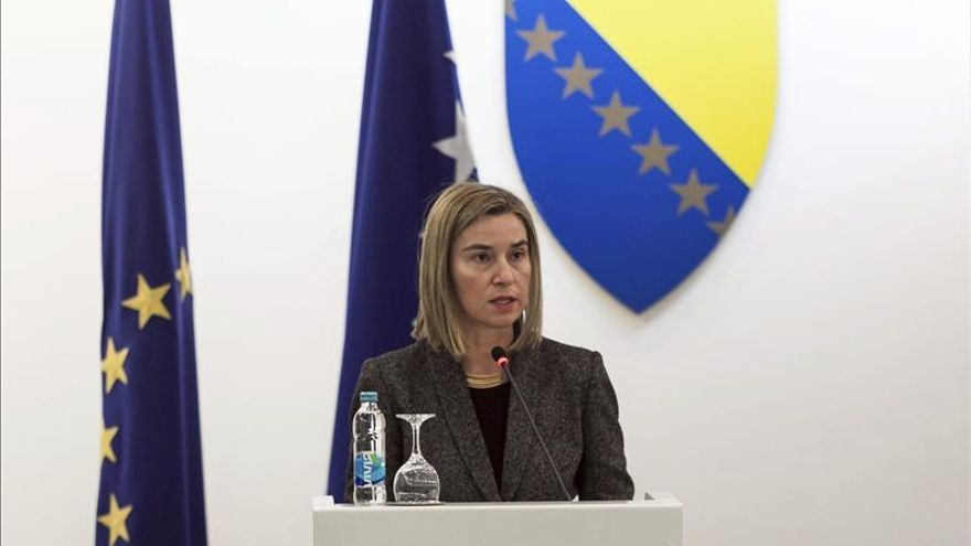 Mogherini aboga por fortalecer la misión de la OSCE en el este de Ucrania