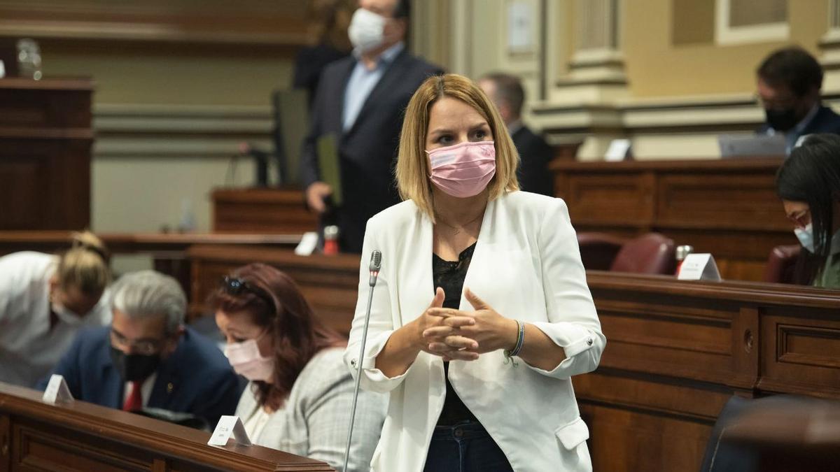 La consejera de Derechos Sociales e Igualdad, Noemí Santana.