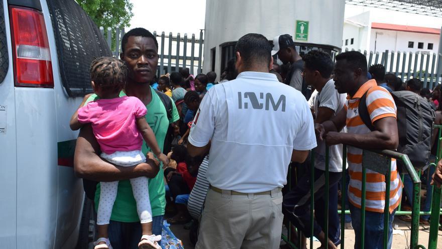 México ha identificado a 90.850 migrantes del 1 enero al 6 de junio