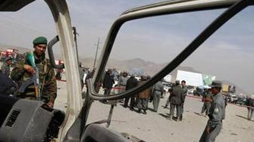 Presencia internacional en Afganistán. (EUROPA PRESS)