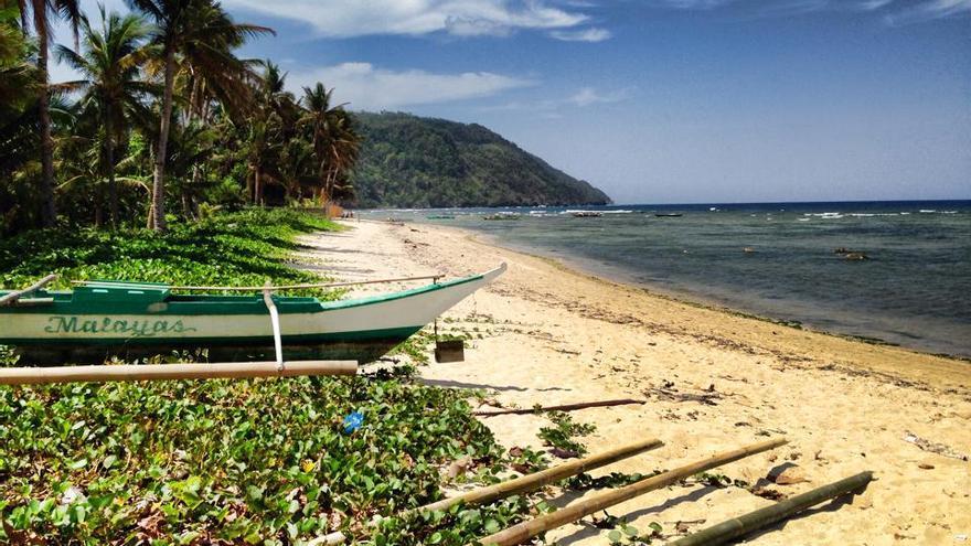 Playas paradisíacas en las costas del Archipiélago de Filipinas.