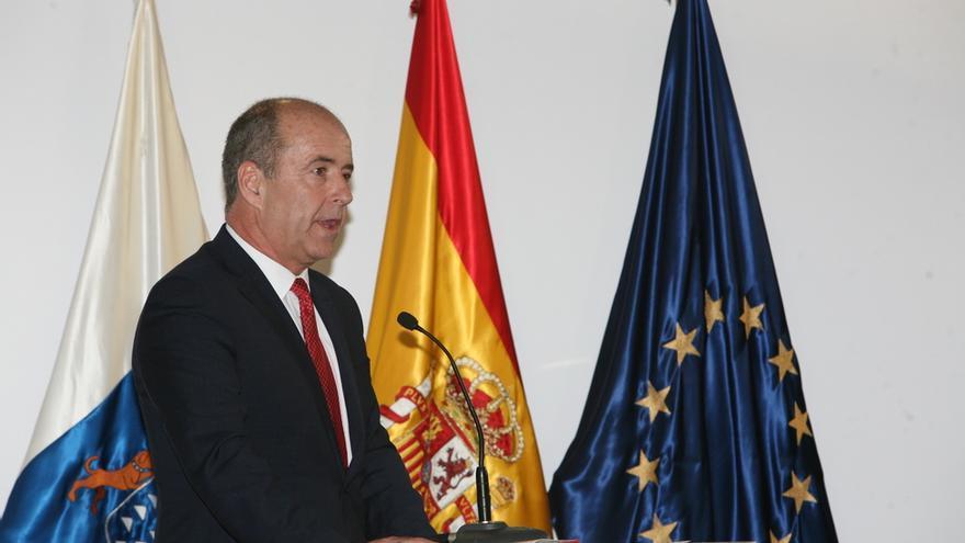 Pedro Ortega, consejero de Economía, Industria, Energía y Comercio. (ALEJANDRO RAMOS)