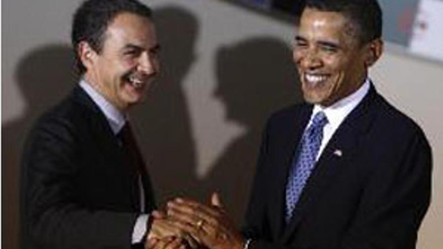 Zapatero y Obama se volverán a encontrar el 13 de octubre. (CANARIAS AHORA)
