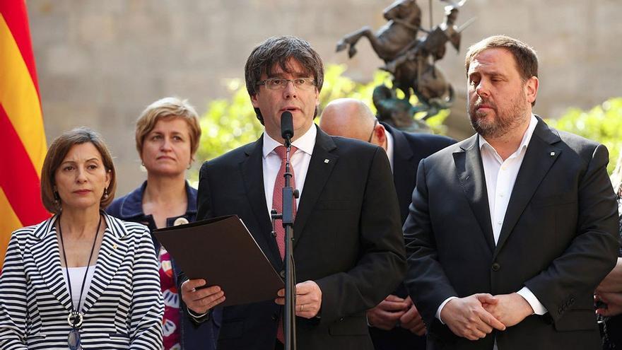Puigdemont ha fijado el 1 de Octubre como fecha para celebrar el referéndum. (EFE).