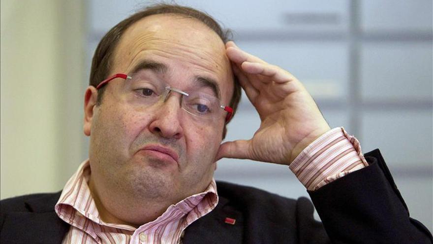 """Iceta, del PSC, cree que hablar de soberanismo en europeas es """"perder el tiempo"""""""