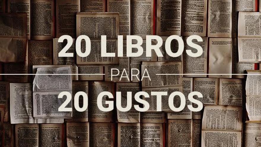 20 libros para 20 gustos en la Feria del Libro