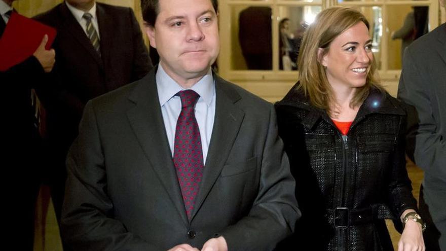 """García-Page muestra su """"profunda tristeza"""" por la muerte de Carme Chacón"""