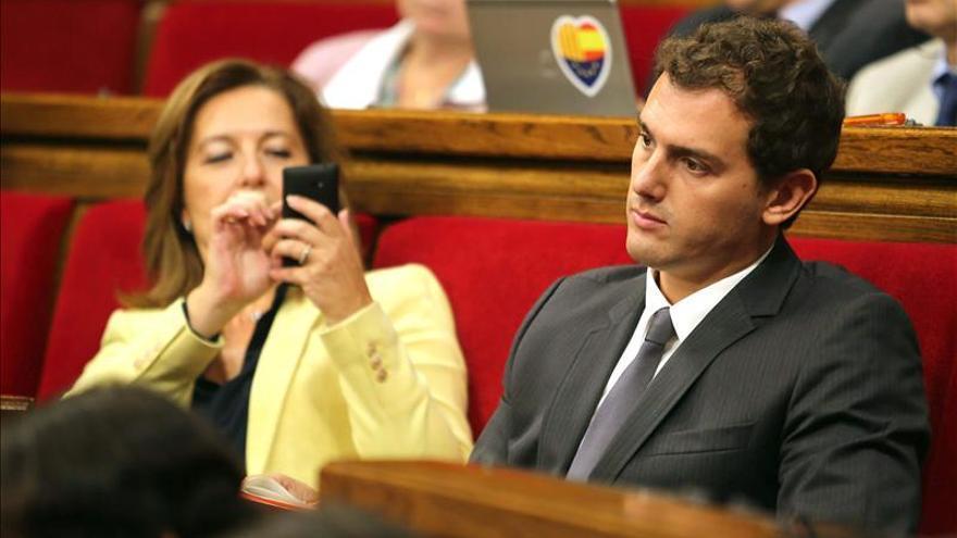 """Albert Rivera cree que Mas ha """"fracasado"""" y le exige que convoque elecciones"""