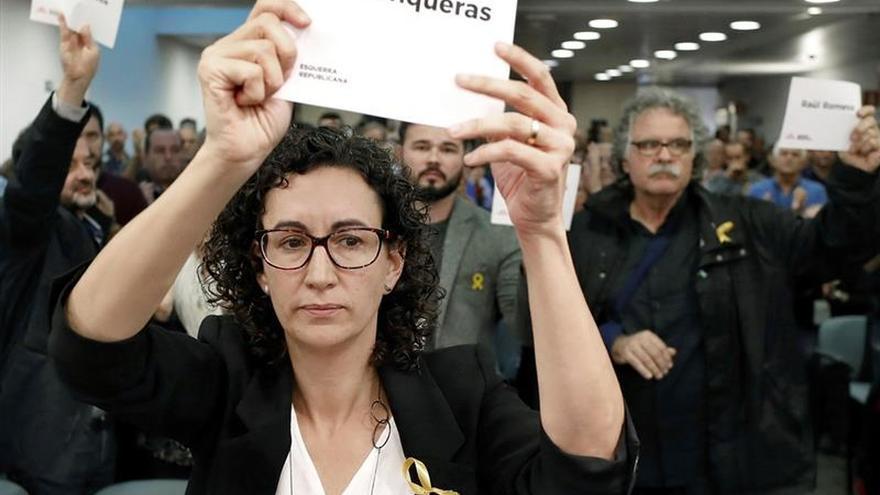 """ERC exige liberar a los """"presos políticos"""" para ir al 21-D en """"igualdad de condiciones"""""""