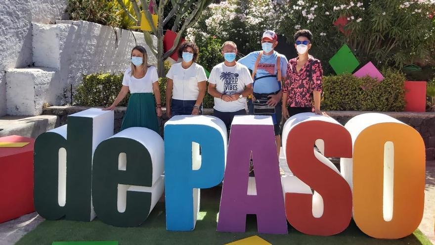 El VI Festival dePaso apoya al sector cultural palmero
