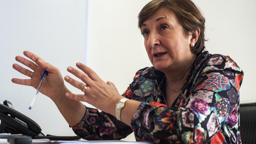 María Luisa Real, consejera de Sanidad del Gobierno de Cantabria.