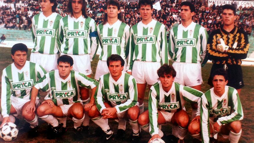 Un Córdoba de finales de los 80, en los años de Segunda B.