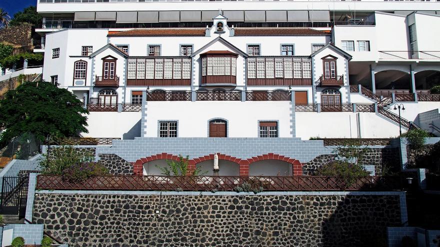 El colegio  Santo Domingo de Guzmán (La Palmita) de Santa Cruz de La Palma.