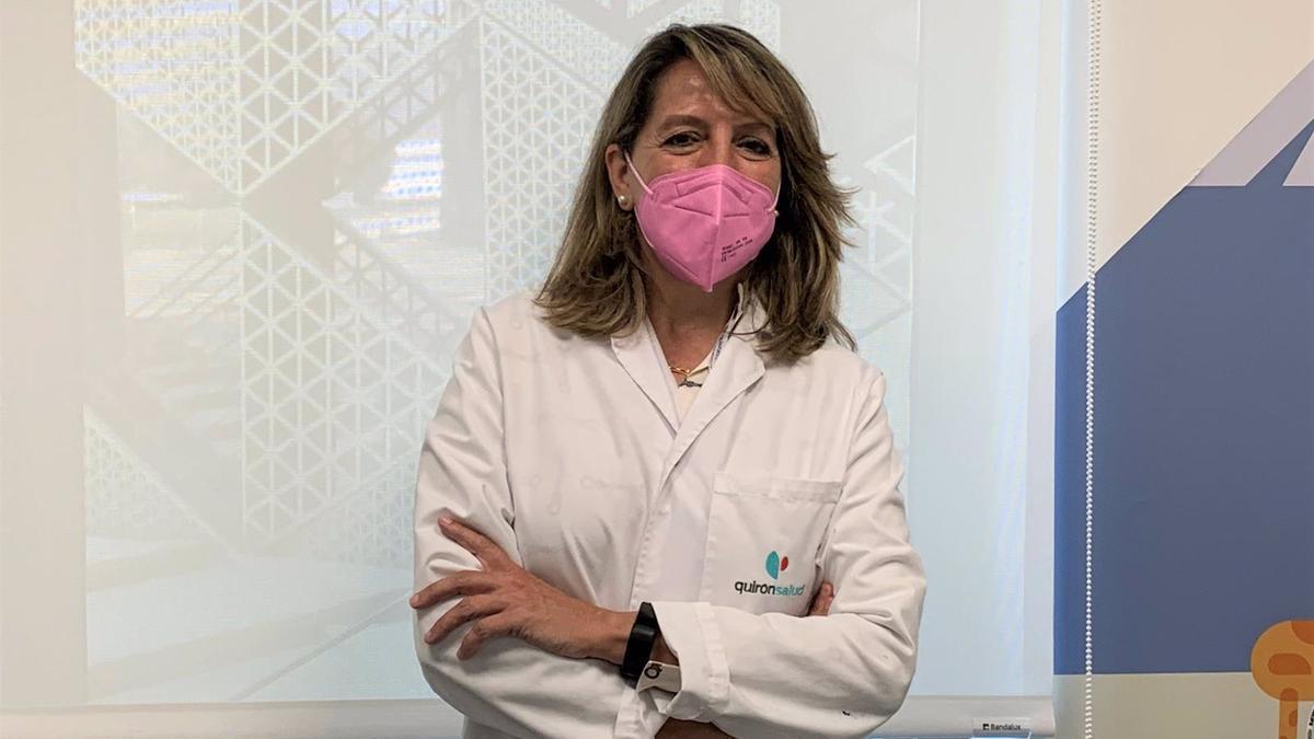 Ruth Capitán, pediatra del Hospital Quirónsalud Córdoba.