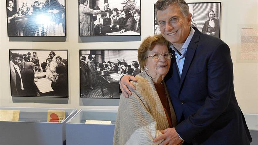 Argentina celebra los 70 años del sufragio femenino en el país