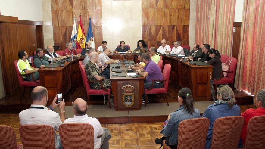 En la imagen, reunión celebrada este jueves en el Cabildo.