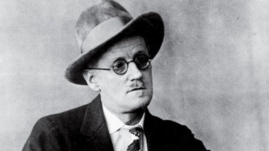 Retrato de James Joyce