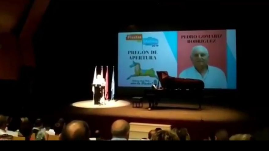 Pedro Gomariz, pregonero de las fiestas patronales de Molina de Segura 2019