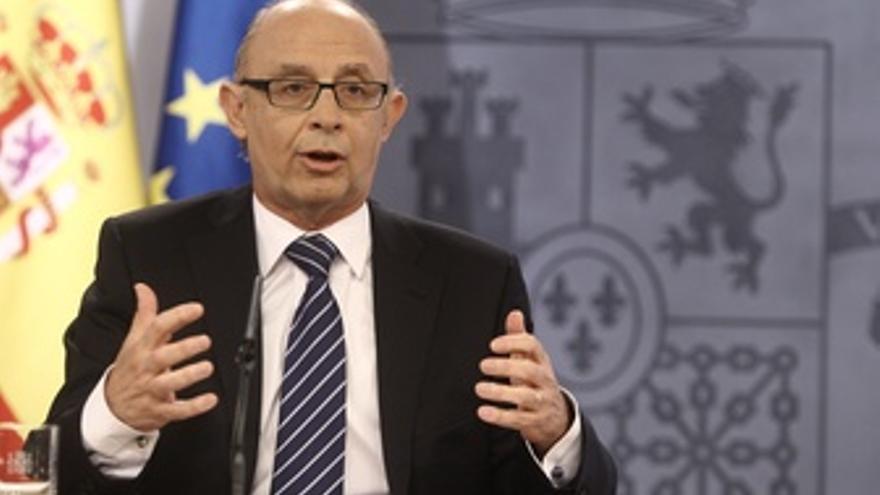 Cristóbal Montoro. (EUROPA PRESS)