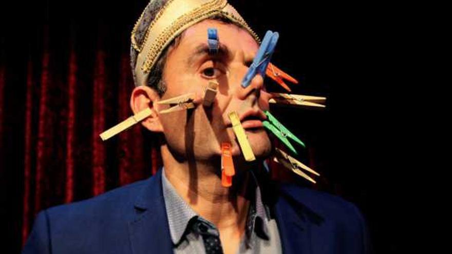 Joan Estrader en la obra 'Mr Kebab'