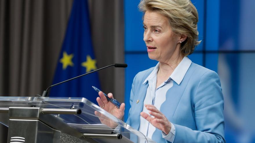 Von der Leyen pide a los países de la UE que acuerden sanciones a Bielorrusia