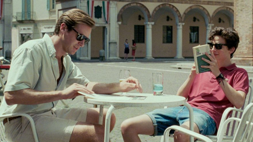 Timothée Chalamet y Armie Hammer en 'Call me by your name'