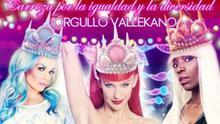 Cartel de la carroza de la diversidad de la cabalgata de Reyes de Vallecas