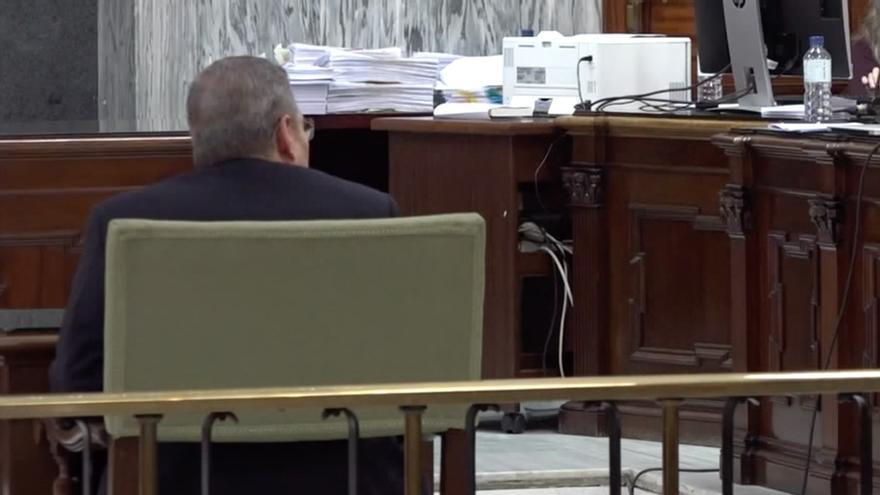 Héctor de Armas, declarando en el juicio contra Salvador Alba