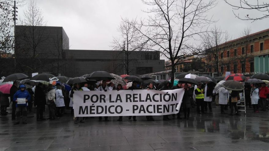 Huelga de médicos Navarra